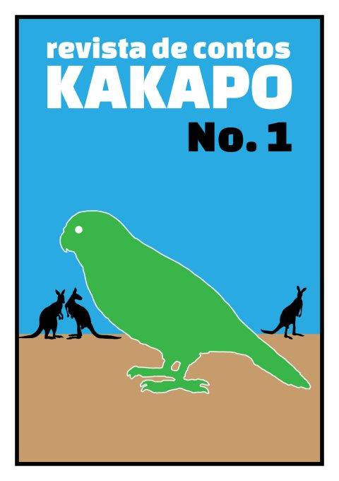 Capa da ediçã 1 da revista Kakapo