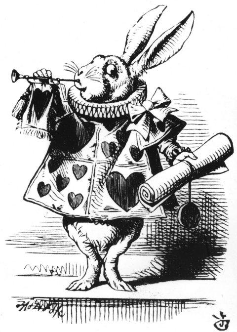 Ilustração de John Tenniel para o livro Alice no País das Maravilhas