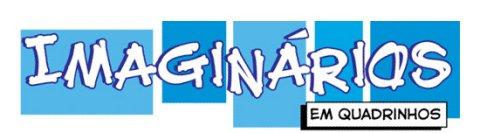Logo da coleção Imaginários em Quadrinhos