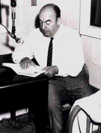 O poeta chileno Pablo Neruda