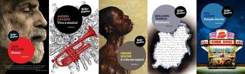 Stoner, de John Williams; Viva a música!, de Andrés Caicedo; A vida em espiral, de Abasse Ndione; Minotauro, de Benjamin Tammuz; e Estação Atocha, de Ben Lerner