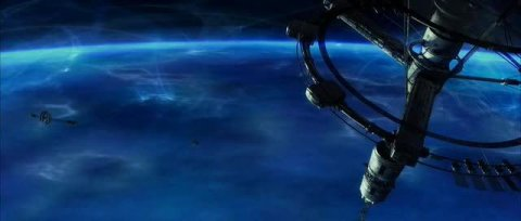 Cena do filme Solaris (2002), dirigido por Steven Soderbergh