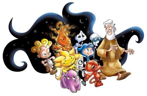 """Personagens de """"A Chave do Universo"""""""