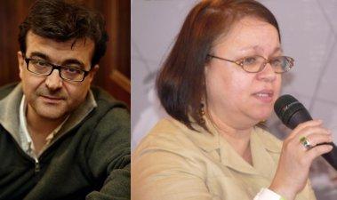 Javier Cercas e Zoé Valdés