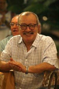 O escritor baiano João Ubaldo Ribeiro